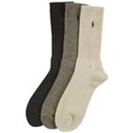 Ralph Lauren Mens 3-pack Twisted Midweight Socks