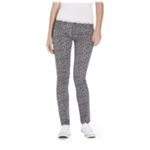Aeropostale Womens Cheetah Print Ultra Denim Skinny Fit Jeans