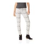 Aeropostale Womens Lola Print Jegging Skinny Fit Jeans