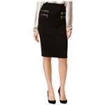 Grace Elements Womens Zip Pocket Pencil Skirt