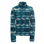 Aeropostale Womens Camo Fleece Sweatshirt