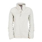 Aeropostale Womens Fleece Full Zip Lightweight Field Jacket