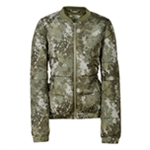 Aeropostale Womens Floral Camo Puffer Jacket