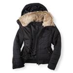Aeropostale Womens Full Zip Puffer Jacket