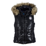 Aeropostale Womens Detachable Hooded Puffer Vest
