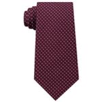 Tommy Hilfiger Mens Twill Pin Dot Self-tied Necktie
