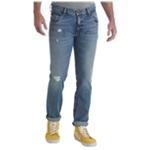 Wrangler Mens Larson Straight Leg Jeans