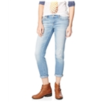 Aeropostale Womens Bayla Destroyed Skinny Fit Jeans