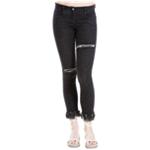 Max Studio London Womens Ripped Skinny Fit Jeans
