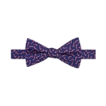 Tommy Hilfiger Mens Candy Cane Pre-Tied Bow Tie