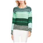 Vince Camuto Womens Striped Colorblock Pullover Sweater