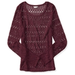 Aeropostale Girls Marled Knit Sweater