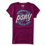 Aeropostale Girls Glitter PSNY Embellished T-Shirt