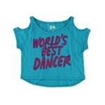 Aeropostale Girls World's Best Dancer Graphic T-Shirt