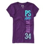 Aeropostale Girls New York 34 Graphic T-Shirt
