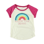Aeropostale Girls Follow Your Dreams Graphic T-Shirt