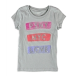 Aeropostale Girls NYC LOVE Graphic T-Shirt