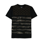 Ecko Unltd. Mens Camo Stars And Stripes Graphic T-Shirt