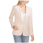 Vince Camuto Womens Pique One Button Blazer Jacket
