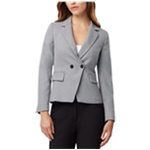 Tahari Womens Double Breasted Two Button Blazer Jacket