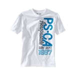 Aeropostale Girls PS-CA Surf Dept Graphic T-Shirt