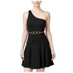 XOXO Womens Chain A-line Dress