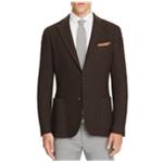 Eleventy Mens Basket Weave Two Button Blazer Jacket