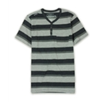 Ecko Unltd. Mens Heather Jsy Stripe Henley Shirt