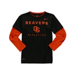 Nike Boys OSU Dri Fit Graphic T-Shirt