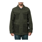Volcom Mens The Blaston Military Jacket