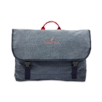 Nautica Mens Canvas Messenger Bag