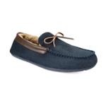 Club Room Mens Bomber Moccasin Slippers