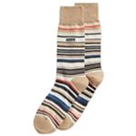 Calvin Klein Mens Striped Midweight Socks