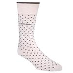 Calvin Klein Mens Giza Pindot Midweight Socks