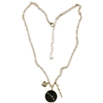 No Boundaries Womens Constant Charmer Necklace Chain