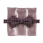 Alfani Mens Bow Tie & Pocket Square Neck Tie Set