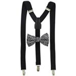 Alfani Mens Suspender Set Self-tied Bow Tie