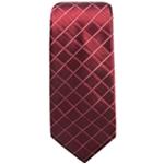 Alfani Mens Grid Self-tied Necktie