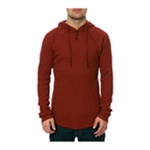 AMBIG Mens The Watson Hooded Thermal Sweater