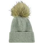 Annabelle U.S.A. Womens Fur Beanie Hat