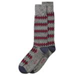 Alfani Mens Overlapping-Stripe Midweight Socks