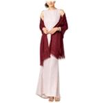 Adrianna Papell Womens Embellished Shawl Scarf Wrap