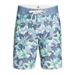 Quiksilver Mens Floral Scallop U20 Swim Bottom Board Shorts