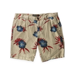 Quiksilver Mens Krandy Flower Casual Denim Shorts