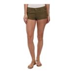 Roxy Womens Cheeky Cuffed Casual Chino Shorts