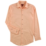 Alfani Mens Stretch Button Up Dress Shirt