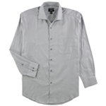Alfani Mens Performance Stretch Button Up Dress Shirt
