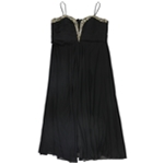 B&A Womens Embellished A-line Dress