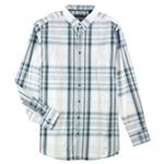Alfani Mens Meyrin Plaid LS Button Up Shirt