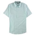 Alfani Mens Slim-Fit Striped Button Up Shirt